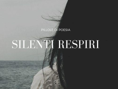 """""""SILENTI RESPIRI"""" LIBRO DI POESIE DI CRESCENZA CARADONNA"""